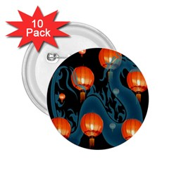 Lampion 2.25  Buttons (10 pack)