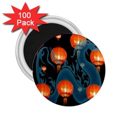 Lampion 2.25  Magnets (100 pack)