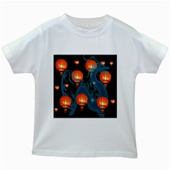 Lampion Kids White T-Shirts