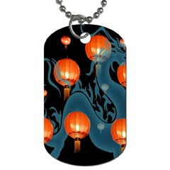 Lampion Dog Tag (Two Sides)