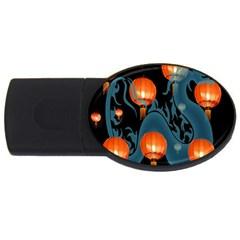 Lampion USB Flash Drive Oval (2 GB)