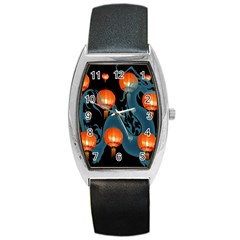 Lampion Barrel Style Metal Watch