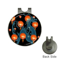 Lampion Hat Clips with Golf Markers