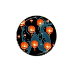 Lampion Hat Clip Ball Marker (4 pack)