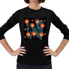 Lampion Women s Long Sleeve Dark T-Shirts