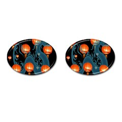 Lampion Cufflinks (Oval)