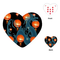 Lampion Playing Cards (Heart)