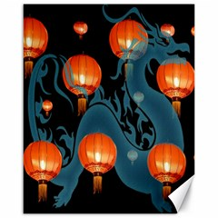 Lampion Canvas 16  x 20