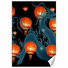 Lampion Canvas 24  x 36