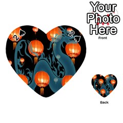 Lampion Playing Cards 54 (Heart)