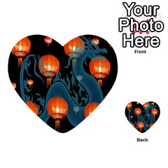 Lampion Multi-purpose Cards (Heart)