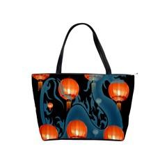 Lampion Shoulder Handbags