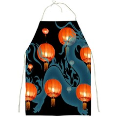Lampion Full Print Aprons