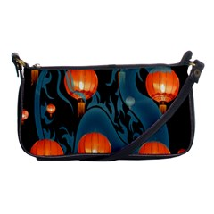 Lampion Shoulder Clutch Bags