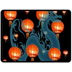 Lampion Fleece Blanket (Large)