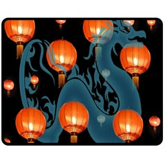 Lampion Fleece Blanket (Medium)