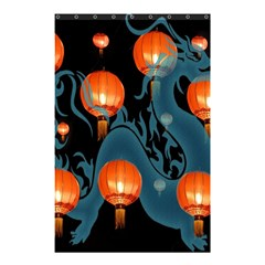 Lampion Shower Curtain 48  x 72  (Small)