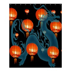 Lampion Shower Curtain 60  x 72  (Medium)
