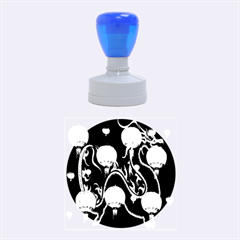 Lampion Rubber Round Stamps (Medium)