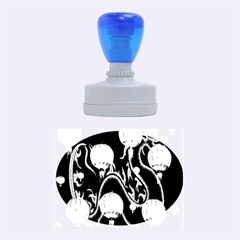 Lampion Rubber Oval Stamps