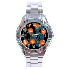 Lampion Stainless Steel Analogue Watch