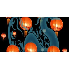 Lampion YOU ARE INVITED 3D Greeting Card (8x4)