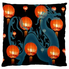 Lampion Large Cushion Case (Two Sides)