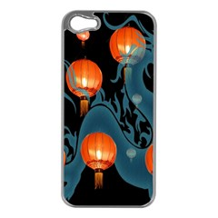 Lampion Apple iPhone 5 Case (Silver)