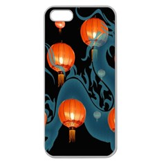 Lampion Apple Seamless iPhone 5 Case (Clear)