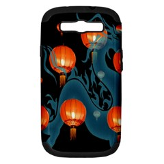 Lampion Samsung Galaxy S III Hardshell Case (PC+Silicone)