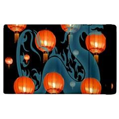 Lampion Apple iPad 2 Flip Case