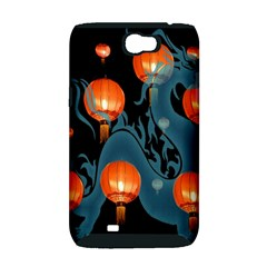 Lampion Samsung Galaxy Note 2 Hardshell Case (PC+Silicone)