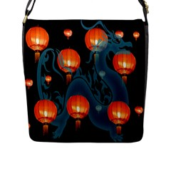 Lampion Flap Messenger Bag (L)