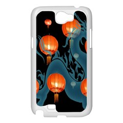 Lampion Samsung Galaxy Note 2 Case (White)