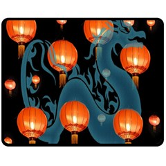 Lampion Double Sided Fleece Blanket (Medium)