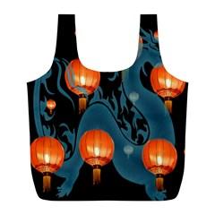 Lampion Full Print Recycle Bags (L)