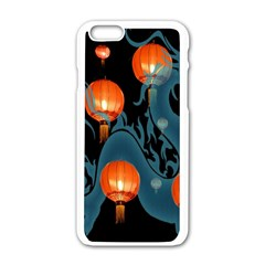 Lampion Apple iPhone 6/6S White Enamel Case