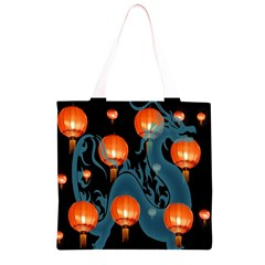 Lampion Grocery Light Tote Bag