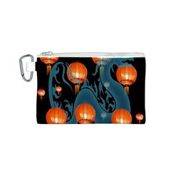 Lampion Canvas Cosmetic Bag (S)