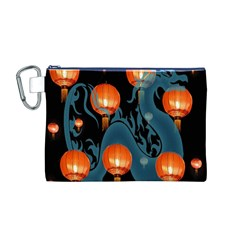 Lampion Canvas Cosmetic Bag (M)