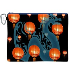 Lampion Canvas Cosmetic Bag (XXXL)