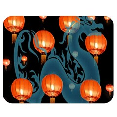 Lampion Double Sided Flano Blanket (Medium)