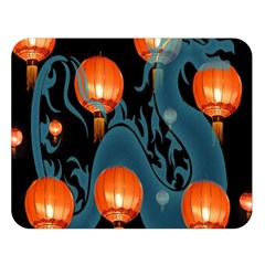 Lampion Double Sided Flano Blanket (Large)