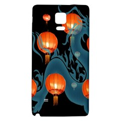 Lampion Galaxy Note 4 Back Case