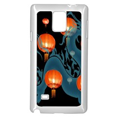 Lampion Samsung Galaxy Note 4 Case (White)