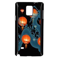 Lampion Samsung Galaxy Note 4 Case (Black)