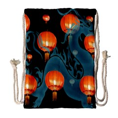 Lampion Drawstring Bag (Large)