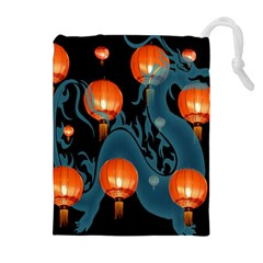 Lampion Drawstring Pouches (Extra Large)