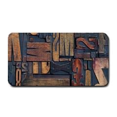 Letters Wooden Old Artwork Vintage Medium Bar Mats