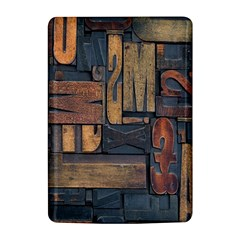 Letters Wooden Old Artwork Vintage Kindle 4